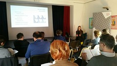 """Connecting and overcoming the boundaries between visitors and museums: presentation of the project EuroVision Museums Exhibiting Europe (EMEE)"""" in the Museum of Contemporary History Celje, Slovenia  on March 31st 2016 • <a style=""""font-size:0.8em;"""" href=""""http://www.flickr.com/photos/109442170@N03/26228954906/"""" target=""""_blank"""">View on Flickr</a>"""