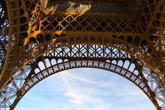 Paris Fretwork (fuzzball5) Tags: paris france tower iron eiffel fr lattice wrought fretwork