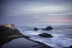 Sutro Baths (fongpei) Tags: ocean sunset beach clouds rocks waves pacificocean landsend sutrobaths cliffhouse