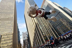 Macy's 2015 Thanksgiving Day Parade/Balloon Inflation (gigi_nyc) Tags: nyc newyorkcity autumn balloons macysthanksgivingdayparade thanksgivingday macys macysparade
