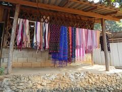 Doi Inthanon NP, Thailand (Jan-2016) 10-004 (MistyTree Adventures) Tags: thailand asia seasia outdoor handmade karen fabric cloth hilltribe scarfs doiinthanon panasoniclumix karenhilltribe doiinthanonnationalpark hilltribevillage