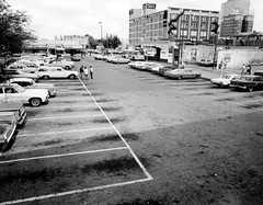 San Antonio Texas 1960s (cruisemagazine) Tags: street get cars digital corner out wonder one this see photo san university do all texas with you shots parking like lot houston run here we collections when what looks shows series they how tight middle came across those ones caption lots packed according located its  camaron carspotting antonios sardinetight