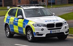NX15CYE (Cobalt271) Tags: cleveland police bmw 30d x5 arv xdrive nx15cye