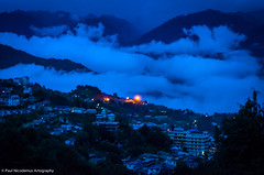 PSN_4255 (Paul Nicodemus) Tags: travel mountains nature night clouds landscapes rocks skies adventure monastery solo greenery roads himalayas valleys tawang arunachalpradesh