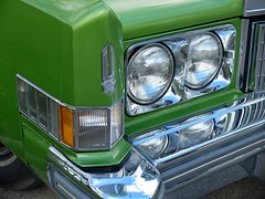 1974 CADILLAC Eldorado verte (dtail) (xavnco2) Tags: france classic car 1974 meeting cadillac eldorado american amiens verte picardie somme raduno anciens rassemblement vhicules lahotoie arpaa