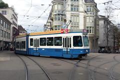 Snfte 2117 (V-Foto-Zrich) Tags: tram zrich vbz verkehrsbetriebe snfte tram2000 zrilinie
