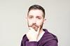 (Damien Cox) Tags: uk gay portrait selfportrait man male me face self ego myself beard eyes nikon hand purple masculine ears moi hoody autorretrato scruff stubble i damiencox damiencoxcouk