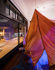 Eavesdrop (architecturegeek) Tags: seattle art architecture design walk space hill nerds capitol inflatable popup hybrid 2016 eavesdrop capitolhillartwalk seattledesignnerds