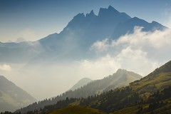 Dent du Midi from Col de Coux (Explored) (sunstormphotography.com) Tags: mist france mountains landscape switzerland thealps swissalps frenchalps gr5 dentdumidi temperatureinversion polarisingfilter canon24105l coldecoux ndgradfilter canon5dmark3