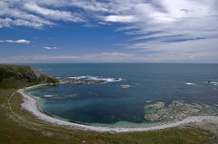 kaikoura again (wirsindfrei) Tags: ocean newzealand beach nature landscape coast seaside nikon kaikoura neuseeland nikond60