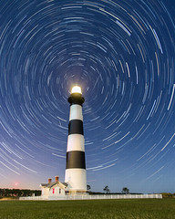 Bodie Startrails (y0chang) Tags: lighthouse stars island star pentax north trails carolina bodie k5 yunghanchang