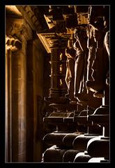 Interior of Matangeshwar Temple, Khajuraho (Mario Feierstein) Tags: india temple hindu khajuraho