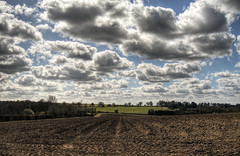 Farmscape near Winchester, Hampshire (neilalderney123) Tags: clouds rural landscape farm olympus winchester 2016neilhoward