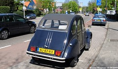 Citron 2CV 1985 (XBXG) Tags: auto old france holland classic netherlands car vintage french automobile nederland citron voiture 2cv frankrijk heemstede 1985 paysbas eend geit ancienne 2pk 2cv6 citron2cv franaise deuche deudeuche nj87rx