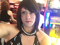 I just can't stop being Anna out and about! #sissy #slut #crossdress #forcedfeminization #trap #trans #transvestite (anna.brighteyes) Tags: slut sissy transvestite trans crossdress trap forcedfeminization