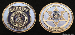 Waukesha County Sheriff Challenge Coin (Nate_892) Tags: county green wisconsin bay coin conservation police grand valley badge fox milwaukee waukesha sheriff patch tribe sheboygan gresham wi chute challenge swat oneida outagamie