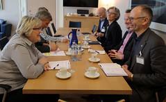 Statsrd Aspaker mter Sjmatalliansen (Utenriksdept) Tags: norway og elisabeth aspaker euminister es sjmatalliansen