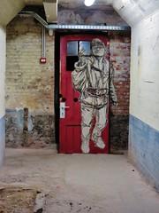 Swoon / Molenbeek  - 22 apr 2016 (Ferdinand 'Ferre' Feys) Tags: brussels streetart graffiti belgium belgique swoon belgi bruxelles urbanart graff brussel graffitiart bxl arteurbano artdelarue urbanarte