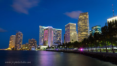 Bayside - Port of Miami (JRCmoreno) Tags: skyline night port buildings florida miami bayside downtownmiami portofmiamie