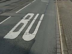 BU(h!) (mkorsakov) Tags: missing buh busstop typo dortmund haltestelle hombruch