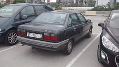 Renault 21 (rear), Barcelona, Spain. (Vasconium) Tags: barcelona spain 21 july renault 2015