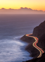 PCH at Twilight (Eric Zumstein) Tags: longexposure ocean pch malibu coast nature cars canon sigma aoi