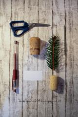 NewYearFavor_01w (Morgana209) Tags: handmade newyear pino favor capodanno anno segnaposto nuovo creativit sughero