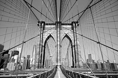 Brooklyn Bridge (lukedrich_photography) Tags: new york city nyc newyorkcity bridge urban usa ny newyork tower public water skyline brooklyn america skyscraper canon buildings river us cityscape unitedstates suspension metro manhattan unitedstatesofamerica engineering pedestrian cable cables walkway transportation brooklynbridge highrise eastriver northamerica borough metropolis wtc gotham bigapple engineer metropolitan waterway skyview nuevayork skyrise newamsterdam megacity nationalhistoriclandmark nationalregisterofhistoricplaces thecitythatneversleeps cablestay thecapitaloftheworld 1worldtradecenter nationalhistoriccivilengineeringlandmark eastriverbridge empirecity johnaugustusroebling    newyorkandbrooklynbridge oneworldtradecenter    t1i canont1i lavilledenewyork
