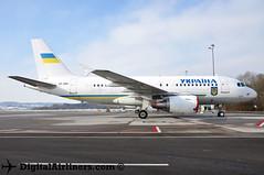 UR-ABA Airbus A319-115(CJ) msn 3260 Ukrainian Government (DigitalAirliners.com) Tags: airbus zrh acj a319 319 3260 uraba a319115cj ukrainiangovernment wef2016 wef16