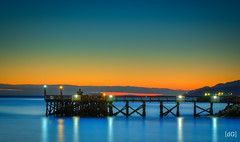 Ambleside Pier - West Vancouver (Daniel's Clicks) Tags: sunset canada vancouver bc bluehour yvr ambleside 604 westvan beautifulbc explorebc ilovebc brisithcolumbia vancitybuzz