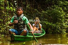NO_Tefe0083 (Visit Brasil) Tags: travel brazil tourism nature horizontal brasil amazon rainforest retrato natureza turismo norte amazonas ecoturismo ecotourism externa nutico tef comgente diurna riosolimes reservamamirau visitbrasil