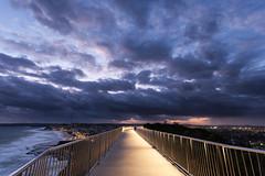 Newcastle Memorial Walk (Benicio Murray) Tags: travel sunset night canon newcastle memorial walk nsw anzac 5dmk2