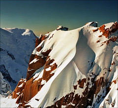 Man and nature 2 (Katarina 2353) Tags: winter panorama mountain holiday snow france alps film landscape nikon range chamonix montblanc alpinista katarinastefanovic katarina2353