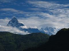 Annapurna (Py All) Tags: nepal sky cloud mountain montagne trek landscape asia ciel asie nuage paysage pokhara extrieur annapurna fort picdemontagne