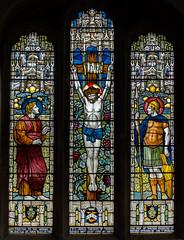 Norton Disney, Lincs, St Peter's church, East Window (Jules & Jenny) Tags: stainedglasswindow crucifixion nortondisney