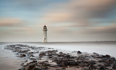 Storm Frank at Perch Rock (GOLDENORFE) Tags: longexposure sky waves lighhouse perchrock 10stopnd bigstopper
