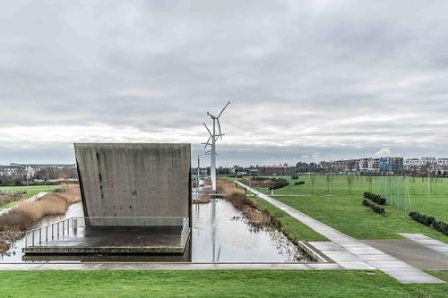 Wind Powered Public Park In Clongriffin Dublin [Father Collins Park]-110982