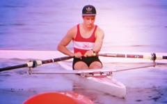 (ManontheStreet2day) Tags: boy ass water boat butt row twink cap tanktop rowing spandex lycra rower