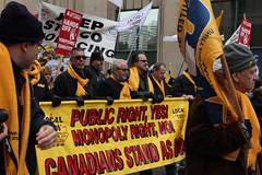 IMG_5685 (United Steelworkers - Metallos) Tags: canada labor demonstration solidarity labour unions usw unitedsteelworkers canlab standupforsteel kenneumann martywarren hamontrally