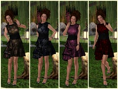 134 - The Lit Path (Catherine Inaka) Tags: buzz belleza ane maitreya slink slhairstyle truthhair glamaffair kirinposes evelineinthebox enchantedforestparadise
