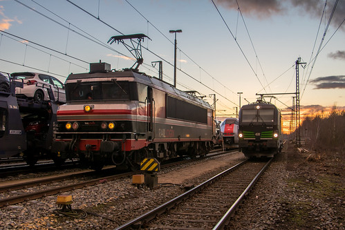 Captrain 1619, SETG 193 218 & NSB 73 003, Bad Bentheim