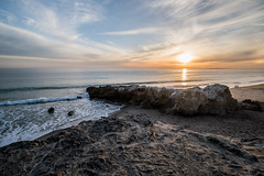 Leo Carrillo State Beach Sunset (jimsheaffer) Tags: california camping beachcamping leocarrillo leocarrillostatebeach nikond750