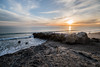 Leo Carrillo State Beach Sunset (jimsheaffer) Tags: california camping beachcamping leocarrillo leocarrillostatebeach nikond750