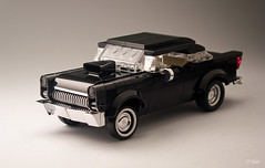 '55 Chevyness (_Tiler) Tags: chevrolet car lego harrisonford chevy vehicle 1955chevy 55chevy americangraffiti 1955chevrolet bobfalfa