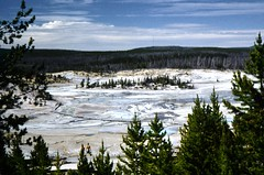 Hot And Smelly (Laurette Victoria) Tags: yellowstonenationalpark wyoming geyserbasin