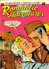 Romantic Adventures 27 (Michael Vance1) Tags: man art love comics artist marriage romance lovers dating comicbooks relationships cartoonist anthology silverage
