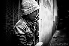Smoke break (Rich Friend) Tags: work thailand asia break bangkok cigarette smoke smoking rest