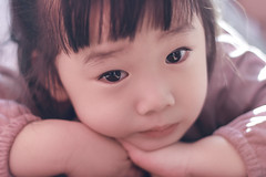 Little Girl (Pei Chen Lu) Tags: people girl children child bokeh littlegirl