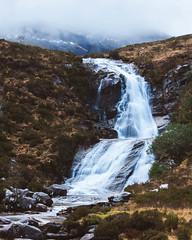 Waterfall, Isle of Skye (Manadh) Tags: cloud mist skye water landscape scotland waterfall isleofskye pentax sigma k3 project365 manadh