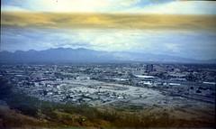 Olympus Trip 500, Kodak Max 400 (K e v i n) Tags: city arizona film analog 35mm tucson az scan kodakmax400 amountain santacatalinamountains southernarizona sentinelpeak olympustrip500 epsonv500
